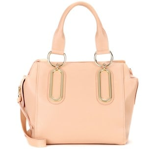 See by Chloe Paige Peach Leather Crossbody Handbag