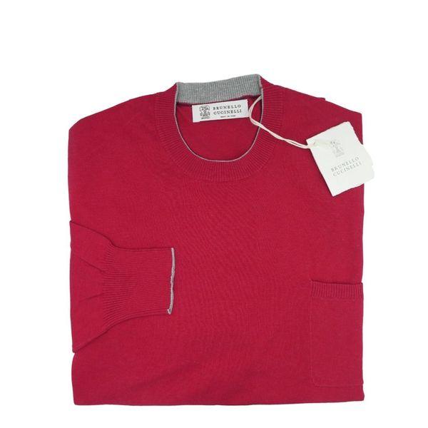 Brunello Cucinelii Pink Sweater 48 S