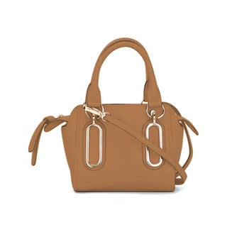 See by Chloe Paige Cognac Leather Crossbody Handbag