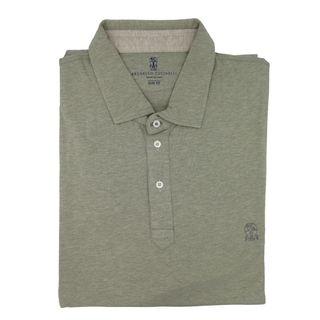 Brunello Cucinelli Grey Cotton T-Shirt 3XL