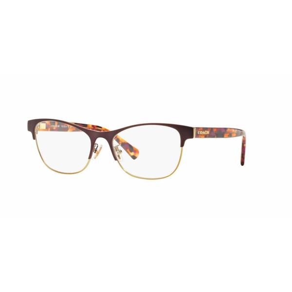 Coach Metal Eyeglass Frames : Coach Womens HC5074 9241 Violet Metal Square Eyeglasses ...