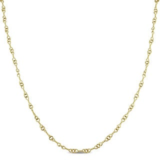 Miadora Signature Collection 18k Yellow Gold Beaded Wrap Around Station Necklace