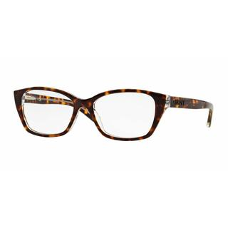 DKNY Womens DY4668 3684 Havana Plastic Cat Eye Eyeglasses
