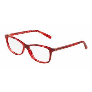 Dolce & Gabbana Womens DG3222 2923 Red Plastic Rectangle Eyeglasses