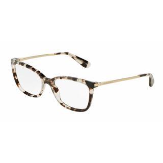 Dolce & Gabbana Womens DG3243 2888 Grey Plastic Square Eyeglasses