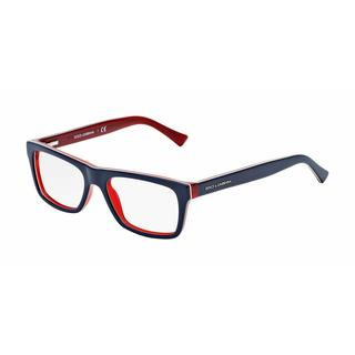 Dolce & Gabbana Unisex DG3205 URBAN 1872 Blue Plastic Rectangle Eyeglasses