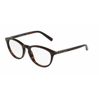 Dolce & Gabbana Womens DG3223 502 Havana Plastic Phantos Eyeglasses