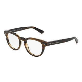 Dolce & Gabbana Mens DG3225 2925 Brown Plastic Phantos Eyeglasses