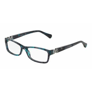 Dolce & Gabbana Womens DG3228 2551 Plastic Rectangle Eyeglasses