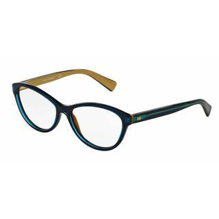 Dolce & Gabbana Womens DG3232 2958 Green Plastic Cat Eye Eyeglasses