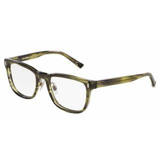 Dolce & Gabbana Mens DG3241 2926 Green Plastic Square Eyeglasses