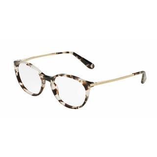 Dolce & Gabbana Womens DG3242 2888 Grey Plastic Phantos Eyeglasses