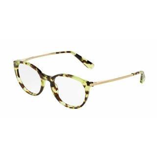 Dolce & Gabbana Womens DG3242 2970 Green Plastic Phantos Eyeglasses