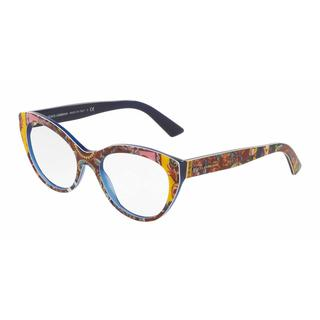 Dolce & Gabbana Womens DG3246 3036 Plastic Cat Eye Eyeglasses
