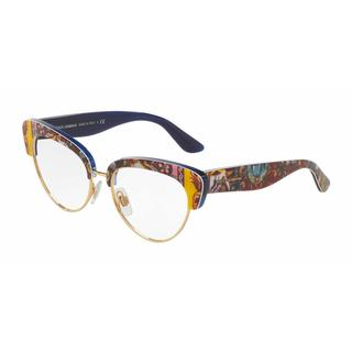 Dolce & Gabbana Womens DG3247 3036 Plastic Cat Eye Eyeglasses
