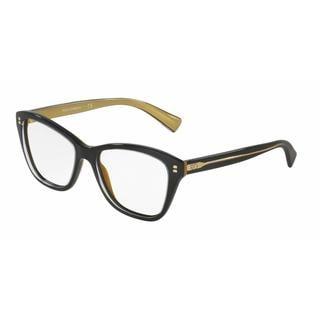 Dolce & Gabbana Womens DG3249 2955 Plastic Square Eyeglasses