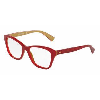Dolce & Gabbana Womens DG3249 2968 Plastic Square Eyeglasses