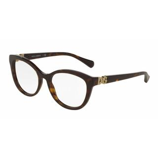 Dolce & Gabbana Womens DG3250 502 Plastic Cat Eye Eyeglasses