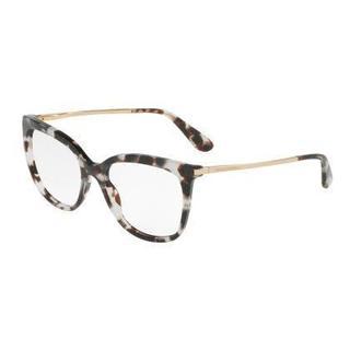 Dolce & Gabbana Womens DG3259 2888 Grey Plastic Square Eyeglasses
