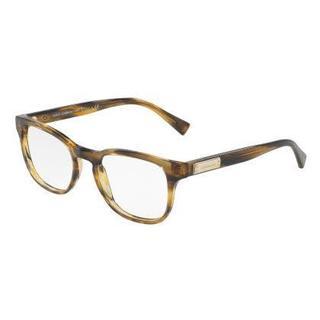 Dolce & Gabbana Mens DG3260F 3063 Brown Plastic Phantos Eyeglasses