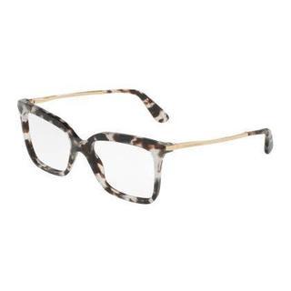 Dolce & Gabbana Womens DG3261 2888 Grey Plastic Square Eyeglasses