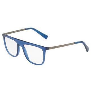 Dolce & Gabbana Mens DG5022 3067 Blue Plastic Square Eyeglasses