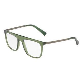 Dolce & Gabbana Mens DG5022 3068 Green Plastic Square Eyeglasses