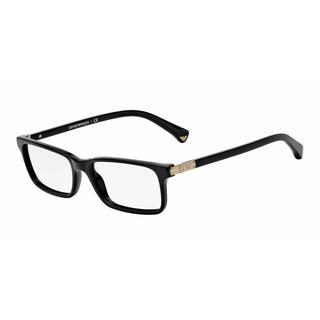 Emporio Armani Womens EA3005F 5017 Plastic Plastic Rectangle Eyeglasses