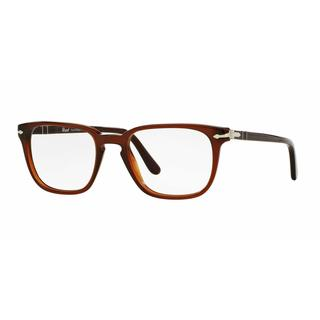 Persol Mens PO3117V 1030 Brown Plastic Square Eyeglasses