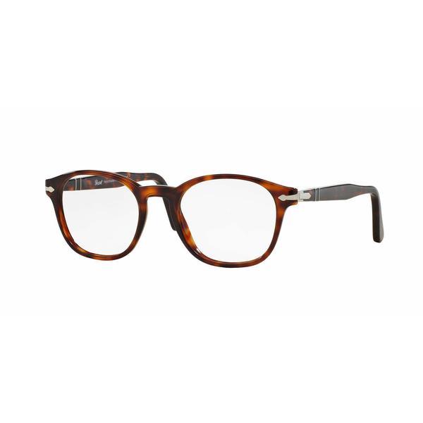 3c63b494cb7 Shop Persol Mens PO3122V 24 Havana Plastic Phantos Eyeglasses - Tortoise -  Free Shipping Today - Overstock.com - 13614109