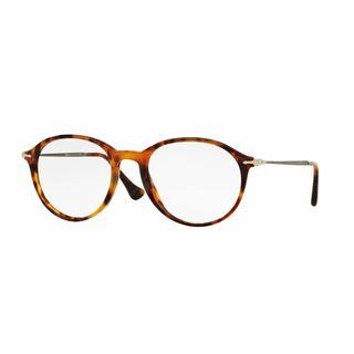 Persol Mens PO3125V 108 Havana Plastic Phantos Eyeglasses