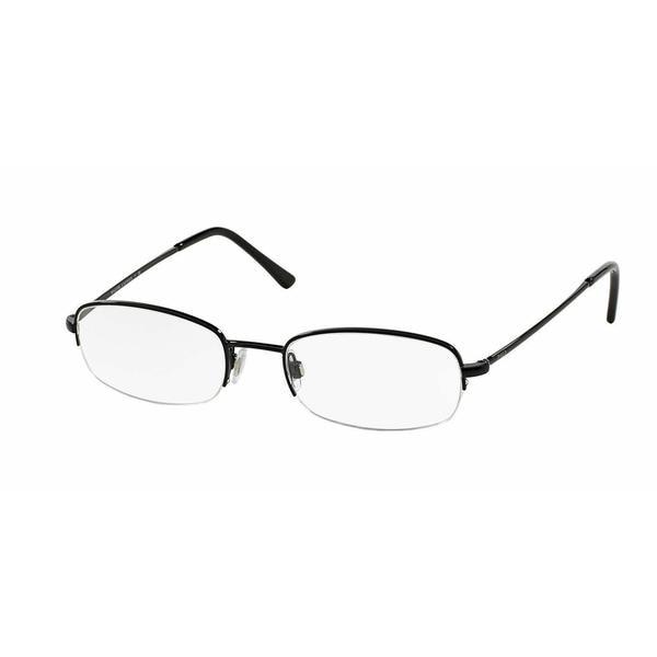 50fb6997de67 Shop Polo Mens PH1142 9003 Black Metal Rectangle Eyeglasses - Free ...