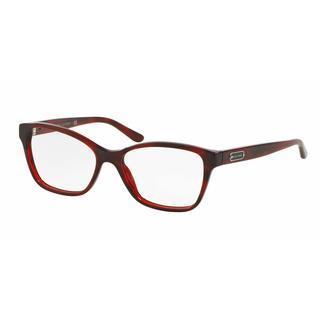 Ralph Lauren Womens RL6129 5522 Red Plastic Cat Eye Eyeglasses