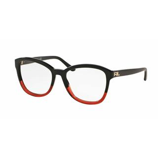 Ralph Lauren Womens RL6142 5583 Bordeaux Plastic Square Eyeglasses