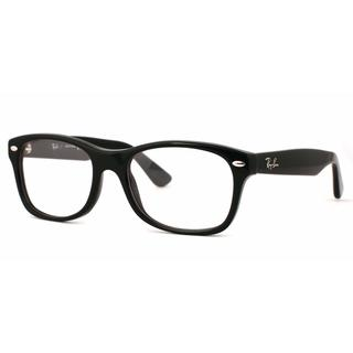 Ray Ban Unisex RY1528 3542 Black Plastic Square Eyeglasses