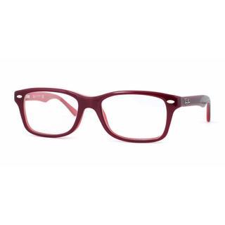 Ray Ban Unisex RY1531 3592 Red Plastic Cateye Eyeglasses