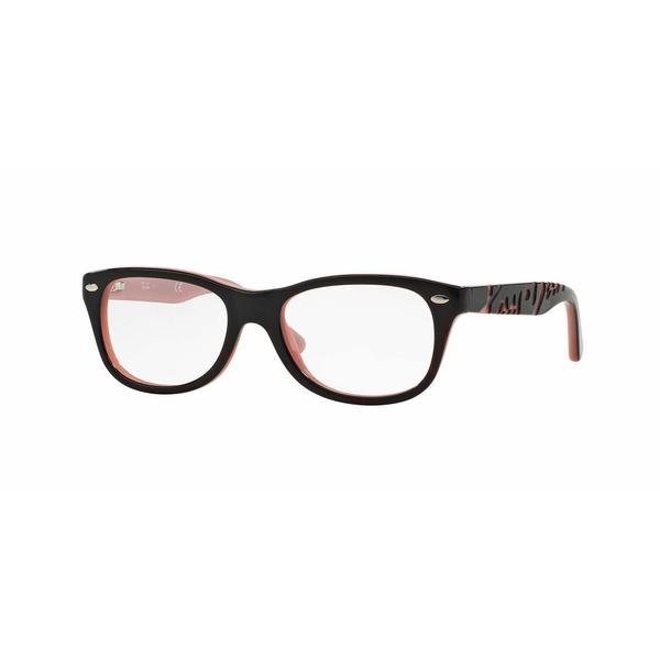 458394f797 Shop Ray Ban Unisex RY1544 3580 Havana Plastic Rectangle Eyeglasses ...