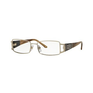Versace Womens VE1163B 1221 Gold Metal Rectangle Eyeglasses