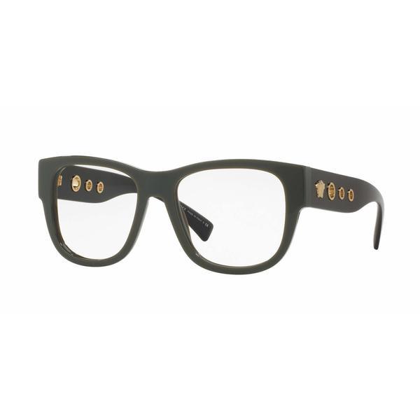 676a210a0b Shop Versace Mens VE3230 5193 Black Plastic Square Eyeglasses ...