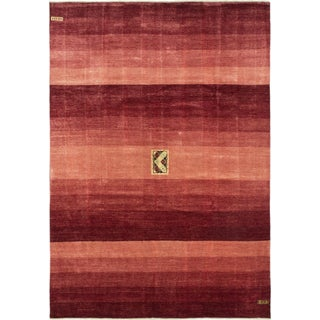 ecarpetgallery Hand-Knotted Peshawar Ziegler Brown, Red Wool Rug (10'2 x 14'6)