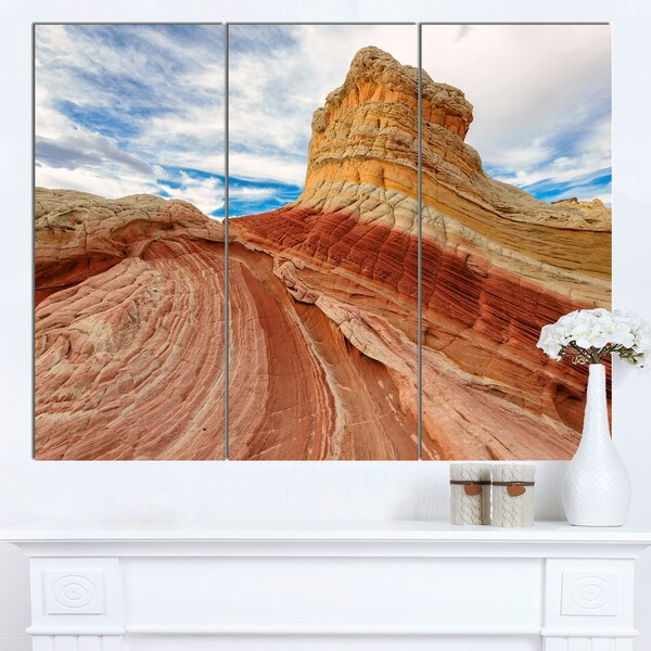 Designart 'Paria Plateau in Northern Arizona' Landscape Artwork Canvas Print