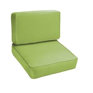 Sloane Apple Green 2-piece Indoor/Outdoor Cushion Set