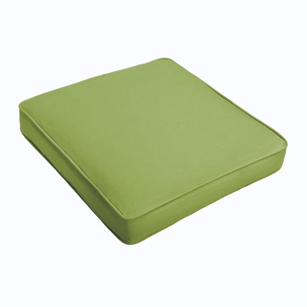 Sloane Apple Green Square Cushion - Corded (As Is Item). Opens flyout.