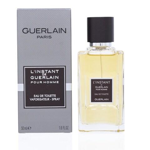 Guerlain L'instant De Guerlain Men's 1.6-ounce Eau de Toilette Spray
