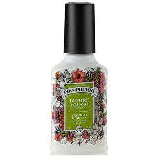 Poo-Pourri 4-ounce Tropical Habiscus Before-You-Go Toilet Spray