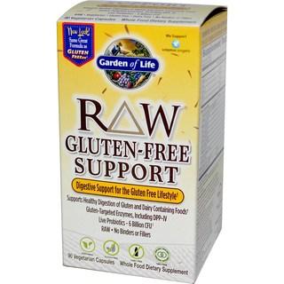 Garden of Life Raw Gluten-Free Support (90 Veggie Capsules)