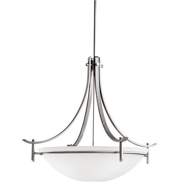 Kichler Lighting Olympia Collection 5-light Antique Pewter Pendant