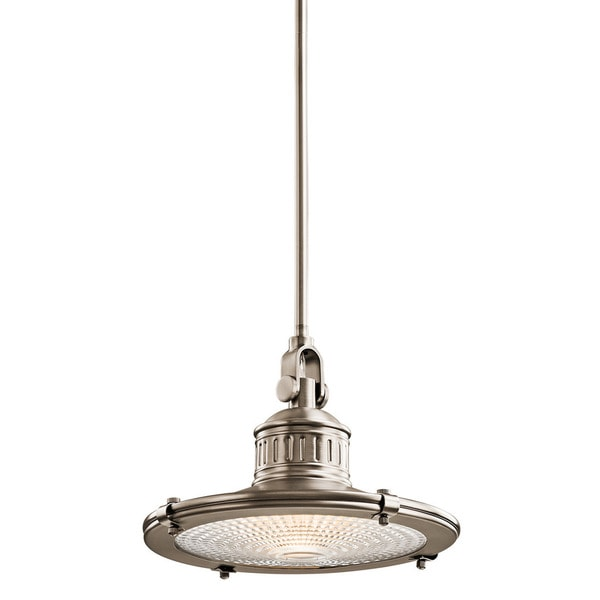 Kichler Lighting Sayre Collection 1-light Antique Pewter Pendant