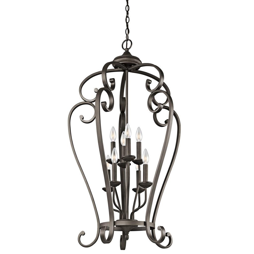 Gracewood Hollow Feraoun Collection 8-light Olde Bronze Foyer Chandelier