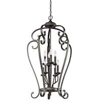 Kichler Lighting Monroe Collection 8-light Olde Bronze Foyer Chandelier